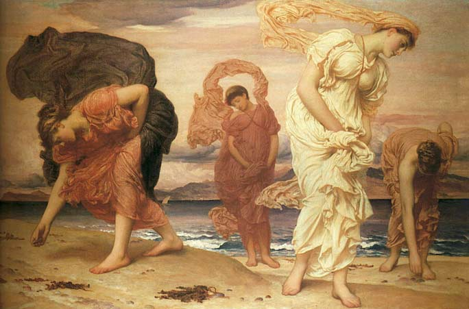 Painting by Lord Frederic Leighton